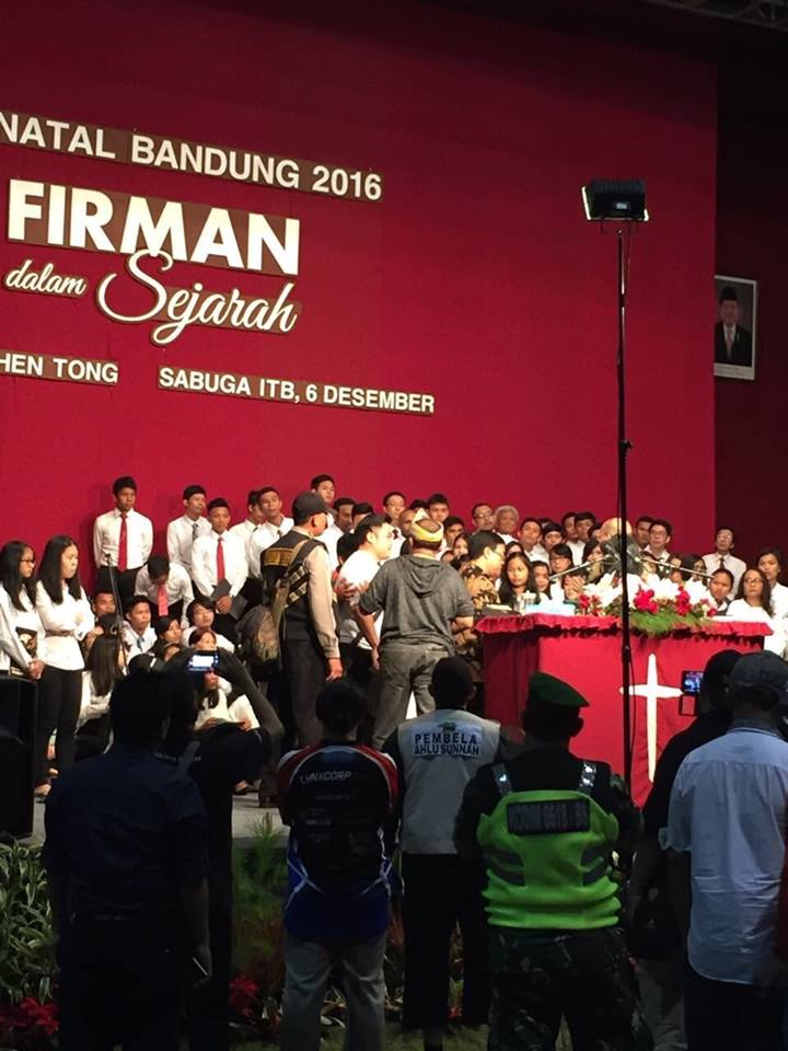 Christmas Revival Event in West Java shut down by Muslims