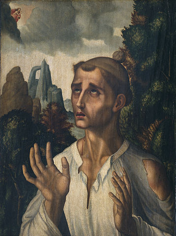 Stephen, first Christian Martyr (Saint Stephen by Luis de Morales)