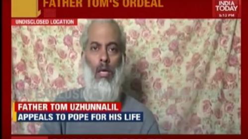 Kidnapped priest, Tom Uzhunnalil held in Yemen