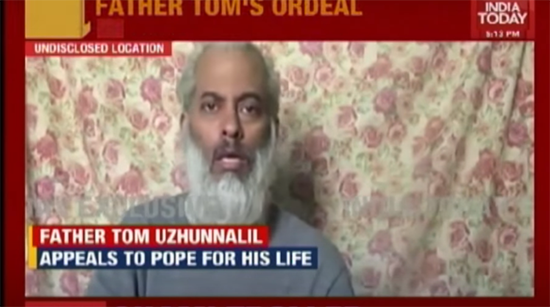 Kidnapped priest, Tom Uzhunnalil held in Yemen