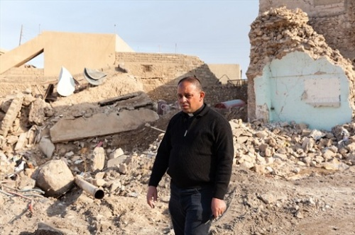The devastation in Karamles has created a 'mounting feeling of hopelessness', according to Fr. Habib. World Watch Monitor