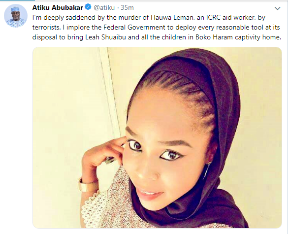 Leah Sharibu « VOICE OF THE PERSECUTED