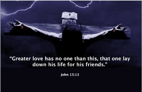 Crucifixion of Jesus – no greater love | VOICE OF THE PERSECUTED
